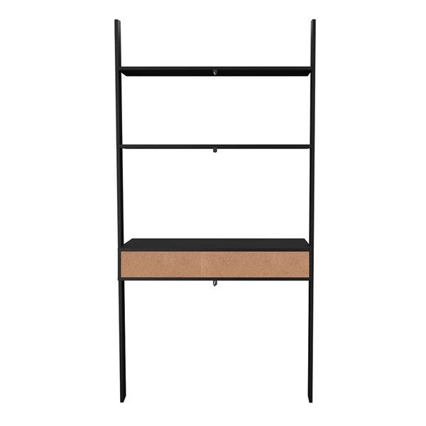 Manhattan Comfort Cooper Ladder Desk - 36.61-in - Black