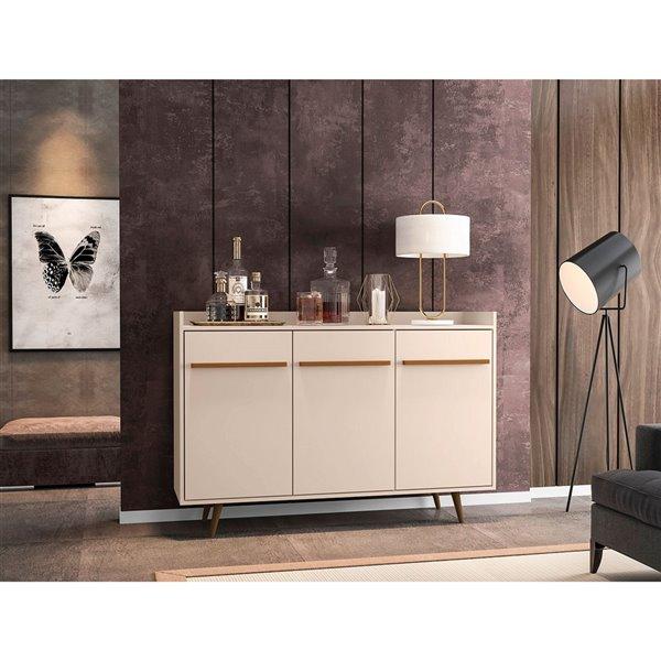 Manhattan Comfort Bradley Buffet - 53.54-in - Off-White