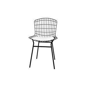 Manhattan Comfort Madeline Dining Chair - 31.89-in - Black and White