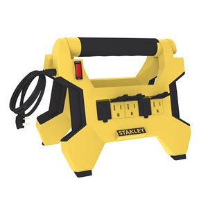 Stanley Powerhorse - 8-outlet/two-sided - 5-outlets/one side - 3-Transformer