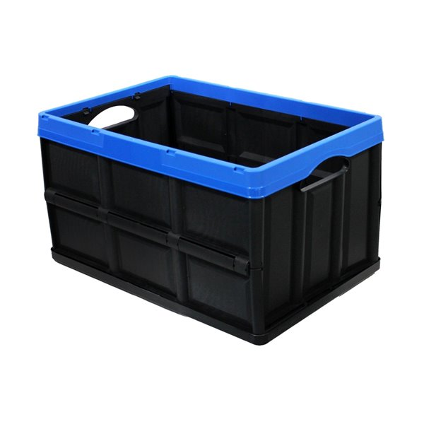 Modern Homes Collapsible Crate - 62L/16.4 Gal - 20.8-in x 11.5-in x 14.25-in