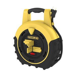 Stanley Shopmax Power Hub - 4-Outlet and 20-ft retractable extension cord