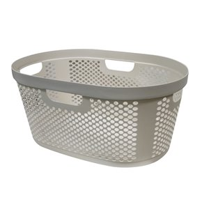 Modern Homes Laundry Basket 40 L - Ivory