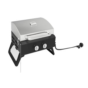 Toolmaster Portable Grill - Propane - Stainless Steel