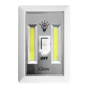iGlow Switch Night Light - 3-in x 4.3-in - Pack of 2