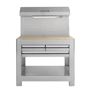Toolmaster Stainless Steel Work Bench