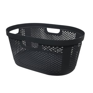 Modern Homes Laundry Basket 40 L - Grey