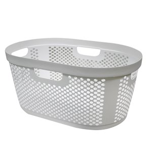Modern Homes Laundry Basket 40 L - White