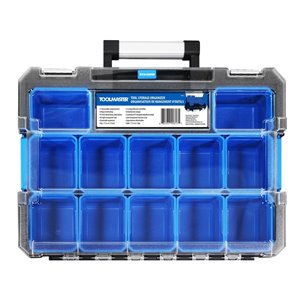 Toolmaster Tool Storage Organizer- Blue and Black
