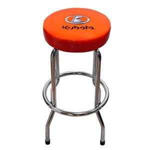 Kubota Stool Bar or Garage - Orange and Black