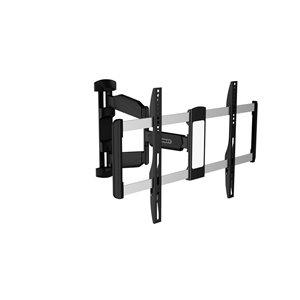 Stanley TV wall mount - 37-in x 70-in - Black