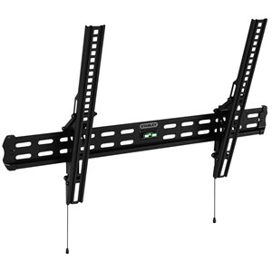 Stanley TV wall mount - 32-in x 60-in - Black