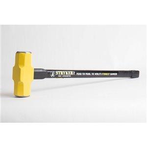 ABC Hammers Steel Reinforced Rubber Handlw Hammer  - 6 lbs - 30-in