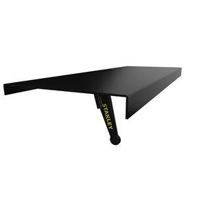 Stanley TV wall mount - 12-in - Black
