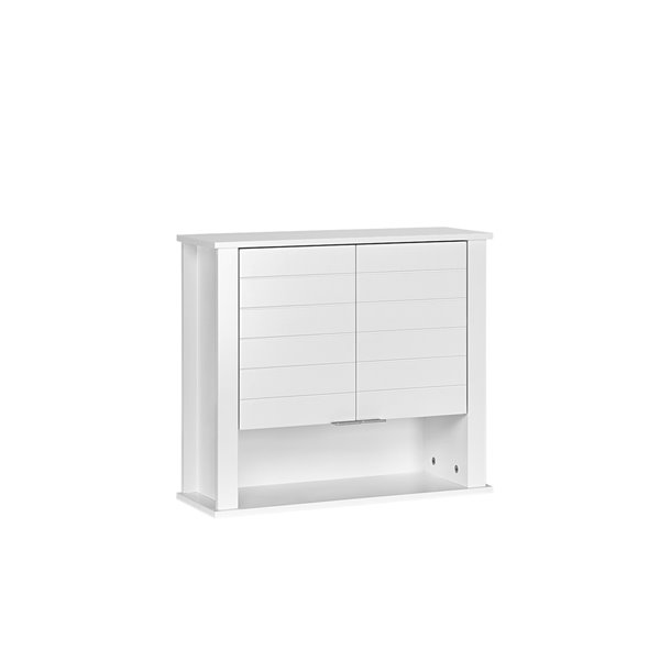 RiverRidge Home Madison Two-Door Wall Cabinet - 7.88-in x 22.88-in x 19.88-in - White