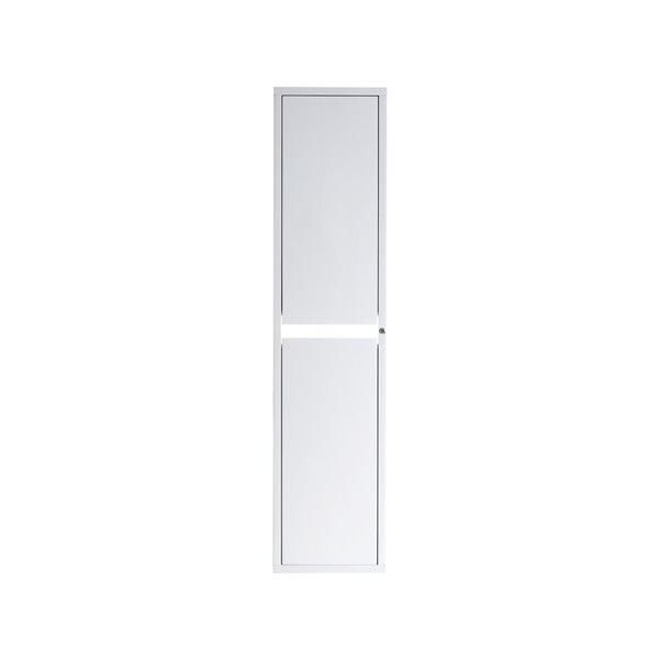 Armoire Modo Alex de Lukx® avec lumière DEL, 14-po x 12,5-po x 60-po