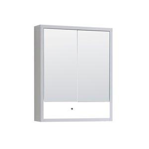 Cabinet  à médicaments Modo Alex de Lukx® avec lumière DEL, 24-po x 6-po x 29-po, blanc satiné