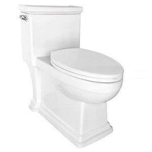 Toilette monobloc en forme d'oeuf de Lukx®