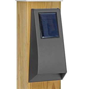 Paradise Solar Accent Wall Light - 10 Lumens - Black