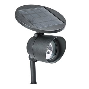 Paradise Solar Cast Aluminum LED Flood Light - Black