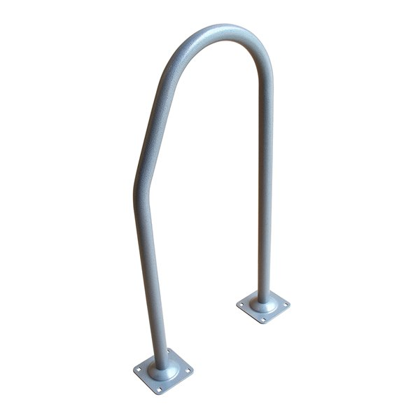 Dock Edge Boarding Buddy Hand Rail for Dock - 36-in - Galvalume