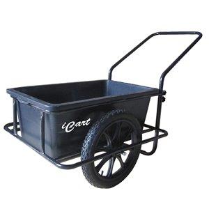 Chariot iCart de Dock Edge, roues de 16 po pneumatiques, acier