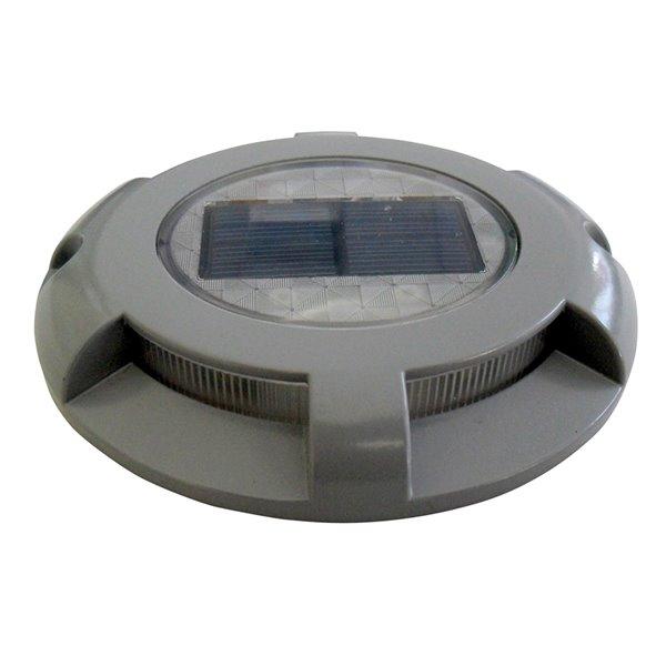 Dock Edge Panoramic Solar Light - LED - Grey