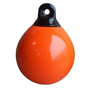 Bouée d'amarrage gonflable de Dock Edge, 15 po, orange