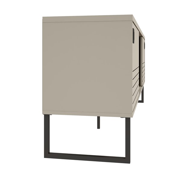 Manhattan Comfort Loft TV Stand - 70.47-in - Off-White and Wood
