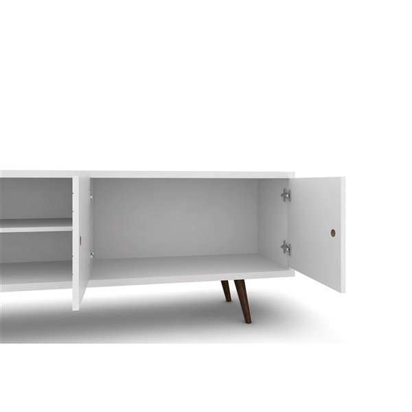 Manhattan Comfort Liberty TV Stand - 62.99-in - White
