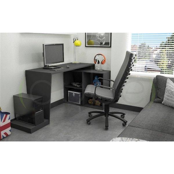 Manhattan Comfort Randalls 3.0 Gamer Desk - 68.11-in - Black