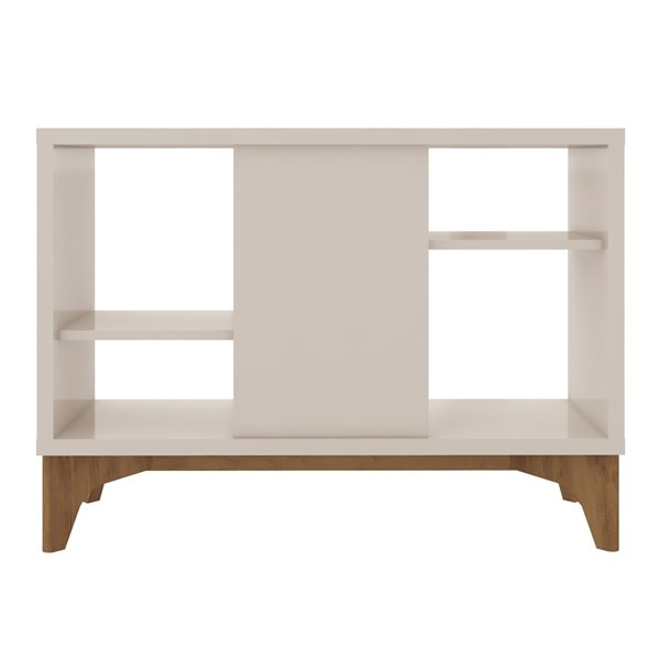 Gowanus Accent Display Sideboard in Off White