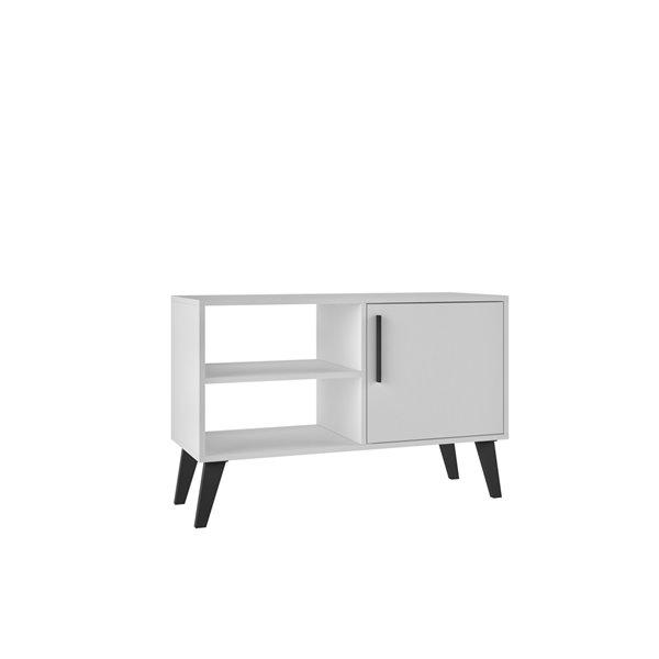Manhattan Comfort Amsterdam TV Stand - 35.43-in - White
