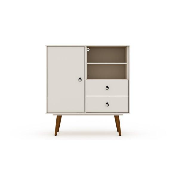 Manhattan Comfort Tribeca Dresser - 40.75-in x 43.7-in - Off-White