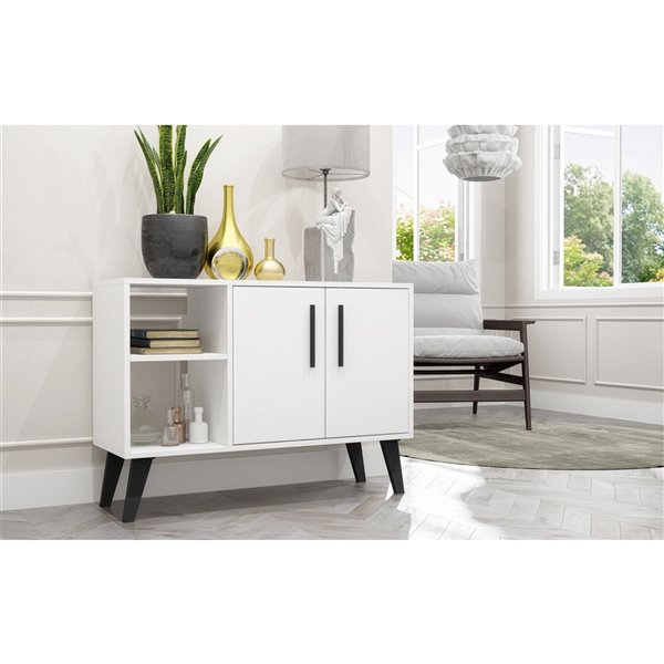 "Amsterdam 35.43"" Sideboard in White"