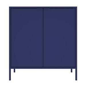 Manhattan Comfort Smart Office Cabinet 27.55-in x 29.92-in - Blue
