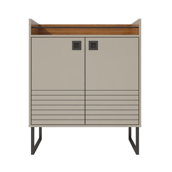Loft 31.49 Buffet Stand in Off White and Wood