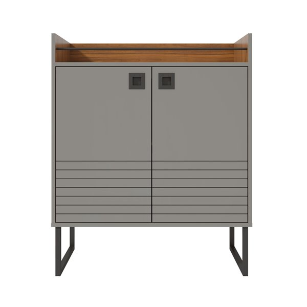 Loft 31.49 Buffet Stand in Grey and Wood