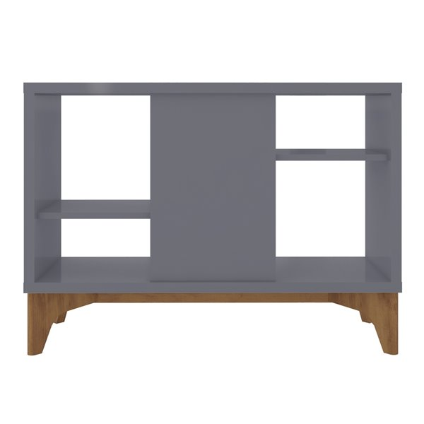 Gowanus Accent Display Sideboard in Grey