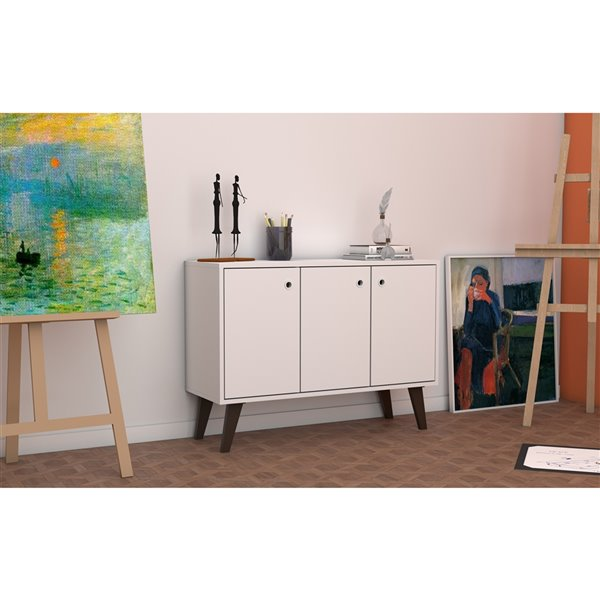 "Bromma 35.43"" Sideboard 2.0 in White"