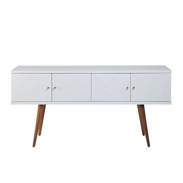 """Trinity 59.84"""" Sideboard in White Gloss"""