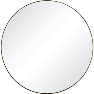 Notre Dame Design Roxwell Decorative Mirror - 24-in x 24-in - Gold