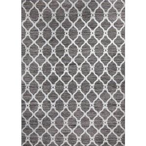 Tapis décoratif Juniper de Notre Dame Design, 7 pi x 5 pi, brun