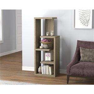 Safdie & Co. Bookcase - 47.25-in x 18-in - Dark Taupe