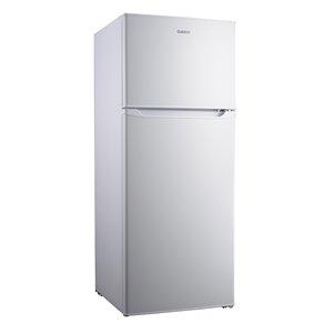 Réfrigérateur Galanz, congélateur supérieur, 7,6 pi³, 22 po, blanc