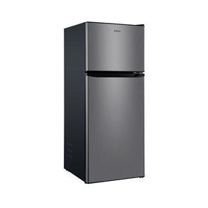 Réfrigérateur Galanz, congélateur supérieur, 10 pi³, 24 po, acier inoxydable