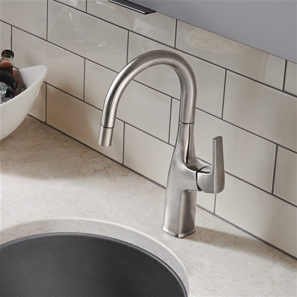 BLANCO Rivana Bar Faucet - Pull-Down - 1.5 GPM - Stainless Steel