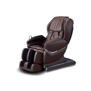 Fauteuil de massage iComfort IC3800, similicuir, brun