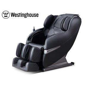 Westinghouse WES41-3000 Massage Recliner - Faux Leather - Black