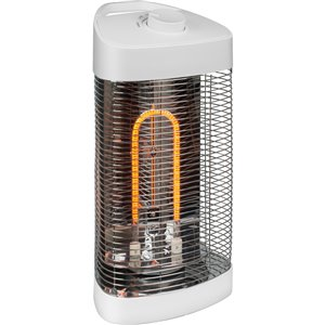 Westinghouse Infrared Oscillating Portable Electric Patio Heater - 4,100 BTU - 20.5-in - White